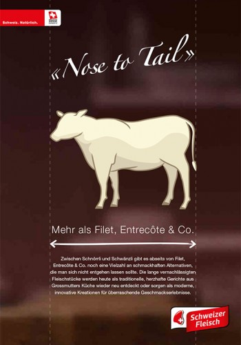 Broschüre «Nose to Tail»