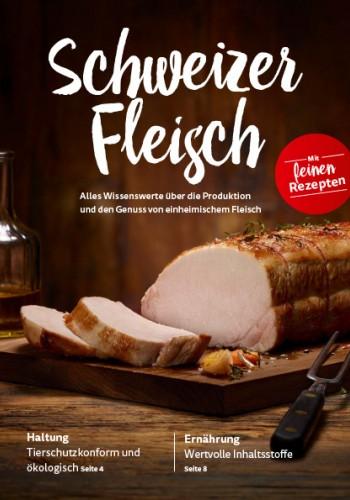 Broschüre «Schweizer Fleisch»