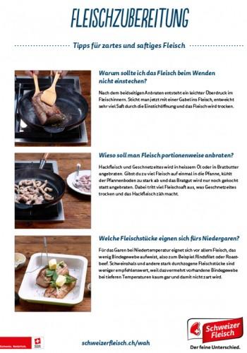 Fleischzubereitung - Tipps für zartes und saftiges Fleisch