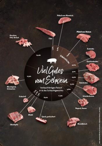 Grafik – Viel Gutes vom Schwein